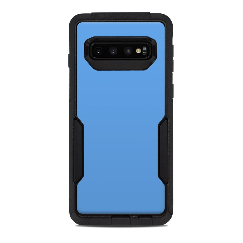 OtterBox Commuter Galaxy S10 Case Skin design of Sky, Blue, Daytime, Aqua, Cobalt blue, Atmosphere, Azure, Turquoise, Electric blue, Calm with blue colors