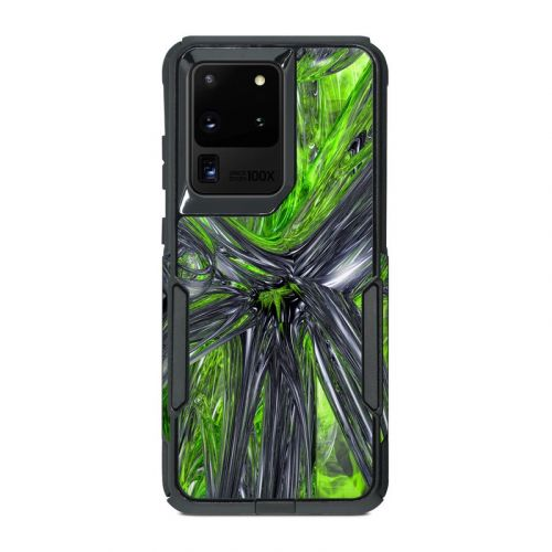 Emerald Abstract OtterBox Commuter Galaxy S20 Ultra Case Skin