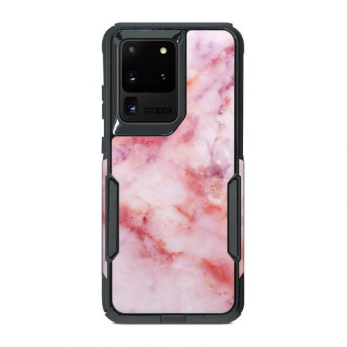 Blush Marble OtterBox Commuter Galaxy S20 Ultra Case Skin