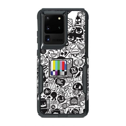 TV Kills Everything OtterBox Commuter Galaxy S20 Ultra Case Skin