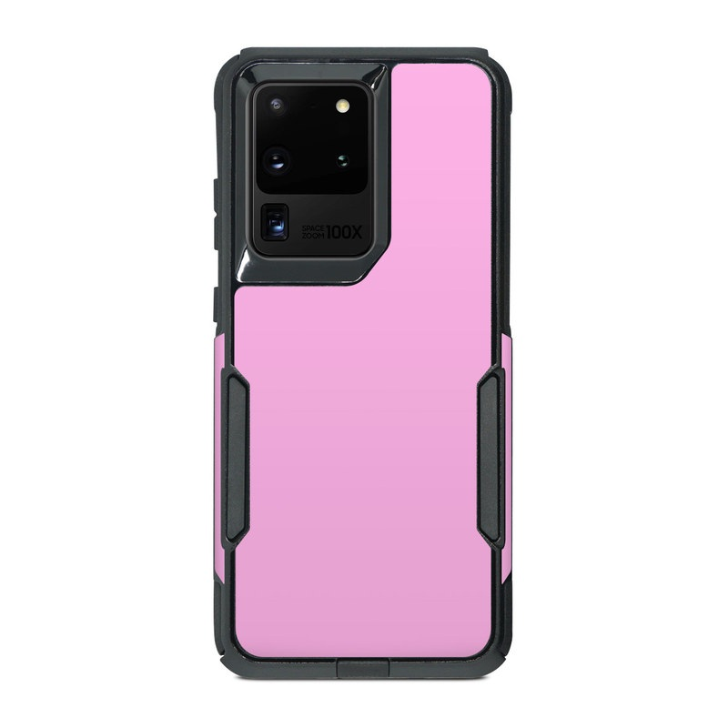 OtterBox Commuter Galaxy S20 Ultra Case Skin design of Pink, Violet, Purple, Red, Magenta, Lilac, Sky, Material property, Peach with pink colors