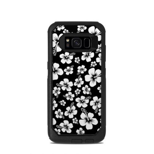 Aloha Black OtterBox Commuter Galaxy S8 Skin