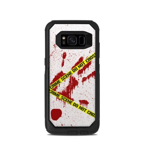 Crime Scene Revisited OtterBox Commuter Galaxy S8 Skin