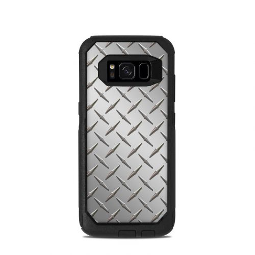 Diamond Plate OtterBox Commuter Galaxy S8 Case Skin