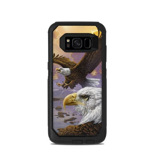 Eagle OtterBox Commuter Galaxy S8 Skin