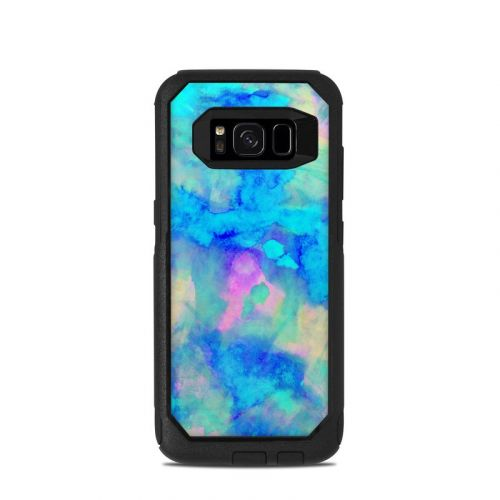 Electrify Ice Blue OtterBox Commuter Galaxy S8 Case Skin