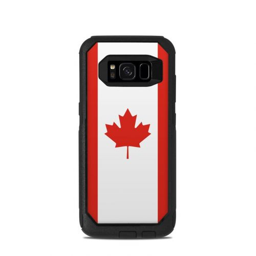 Canadian Flag OtterBox Commuter Galaxy S8 Case Skin