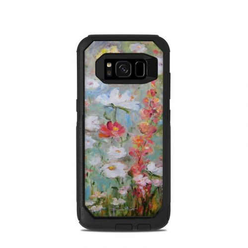Flower Blooms OtterBox Commuter Galaxy S8 Case Skin