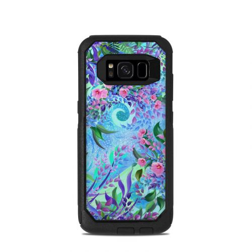 Lavender Flowers OtterBox Commuter Galaxy S8 Case Skin