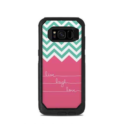 Live Laugh Love OtterBox Commuter Galaxy S8 Skin