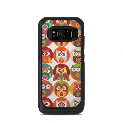Owls Family OtterBox Commuter Galaxy S8 Case Skin