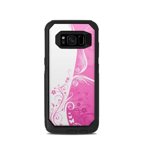 Pink Crush OtterBox Commuter Galaxy S8 Skin