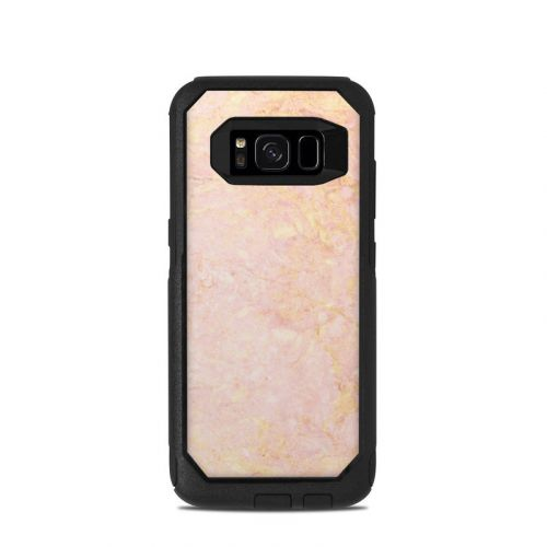 Rose Gold Marble OtterBox Commuter Galaxy S8 Case Skin