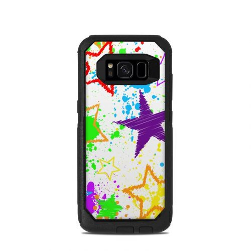 Scribbles OtterBox Commuter Galaxy S8 Case Skin