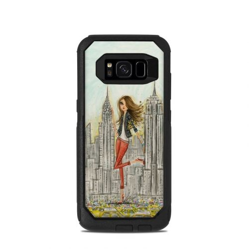 The Sights New York OtterBox Commuter Galaxy S8 Case Skin