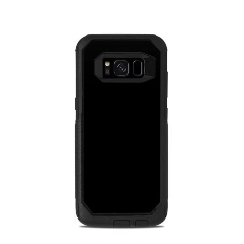 Solid State Black OtterBox Commuter Galaxy S8 Skin