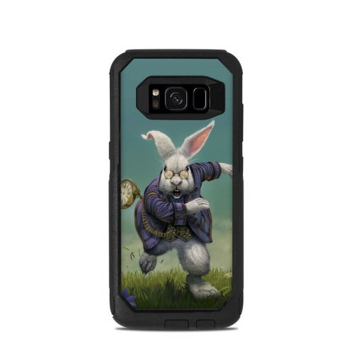 White Rabbit OtterBox Commuter Galaxy S8 Case Skin