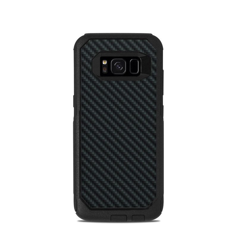 Carbon OtterBox Commuter Galaxy S8 Skin