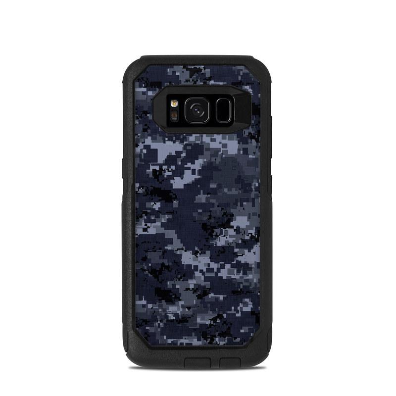 new products 23d84 e5afa Digital Navy Camo OtterBox Commuter Galaxy S8 Case Skin