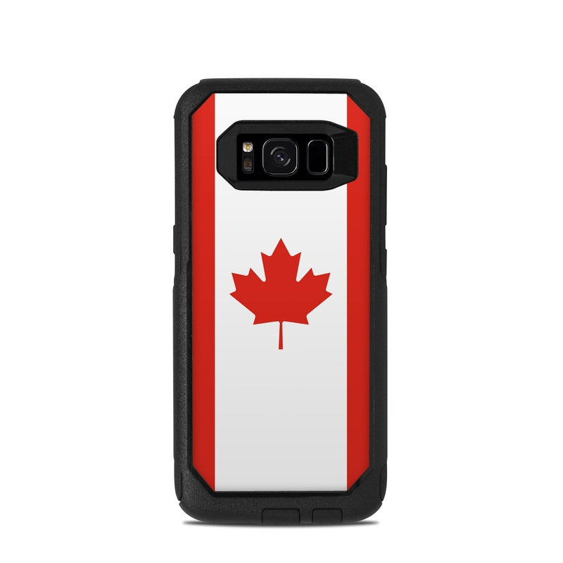 best sneakers d6ddd 14d06 Canadian Flag OtterBox Commuter Galaxy S8 Case Skin