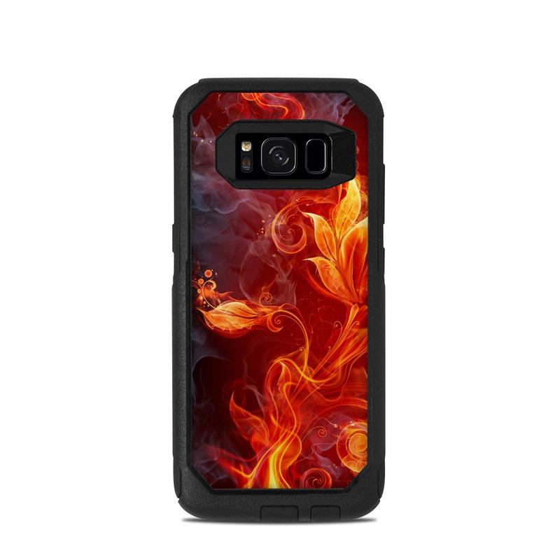 Flower Of Fire OtterBox Commuter Galaxy S8 Skin