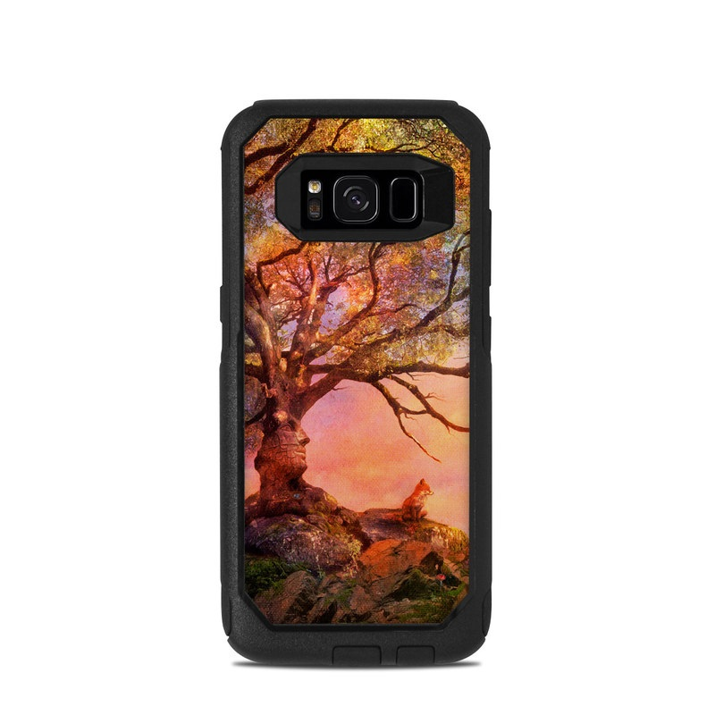 Fox Sunset OtterBox Commuter Galaxy S8 Skin