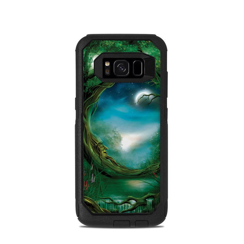 Moon Tree OtterBox Commuter Galaxy S8 Case Skin