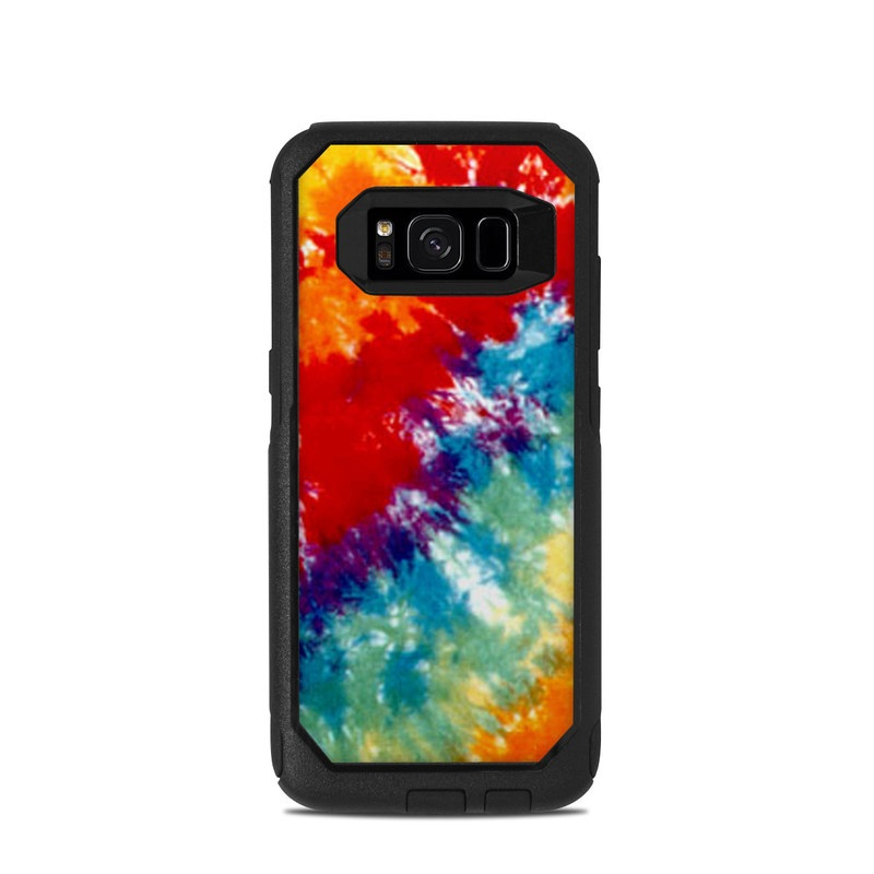 Tie Dyed OtterBox Commuter Galaxy S8 Case Skin