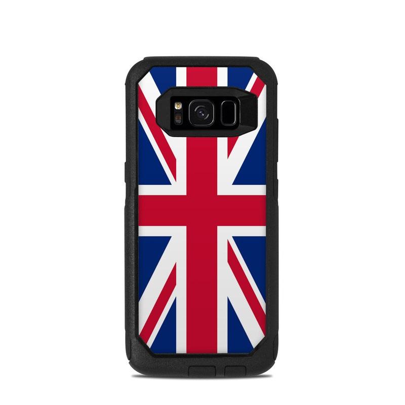 Union Jack OtterBox Commuter Galaxy S8 Case Skin