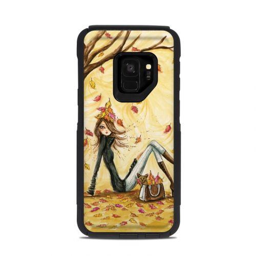 Autumn Leaves OtterBox Commuter Galaxy S9 Case Skin