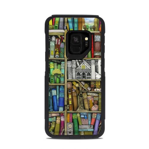 Bookshelf OtterBox Commuter Galaxy S9 Case Skin