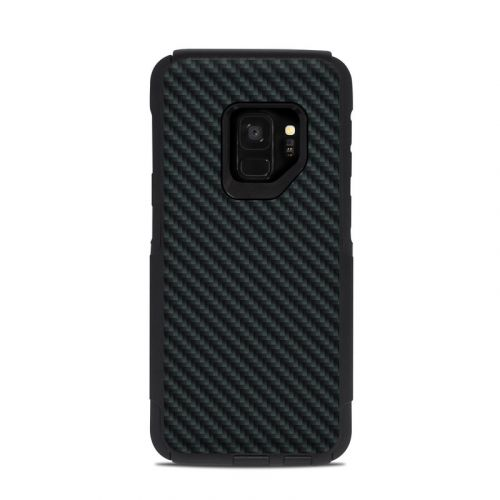 Carbon OtterBox Commuter Galaxy S9 Case Skin