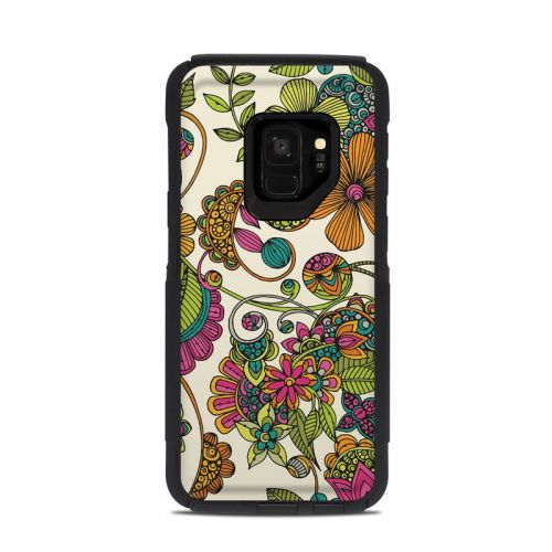 Maia Flowers OtterBox Commuter Galaxy S9 Case Skin