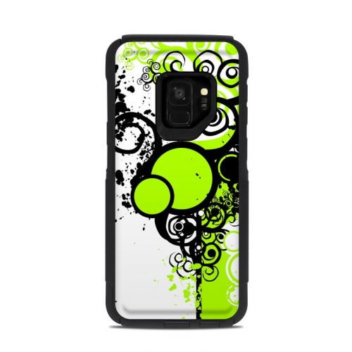 Simply Green OtterBox Commuter Galaxy S9 Case Skin