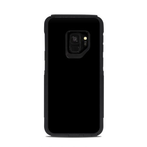 Solid State Black OtterBox Commuter Galaxy S9 Case Skin