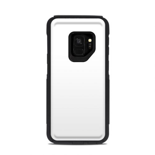 Solid State White OtterBox Commuter Galaxy S9 Case Skin