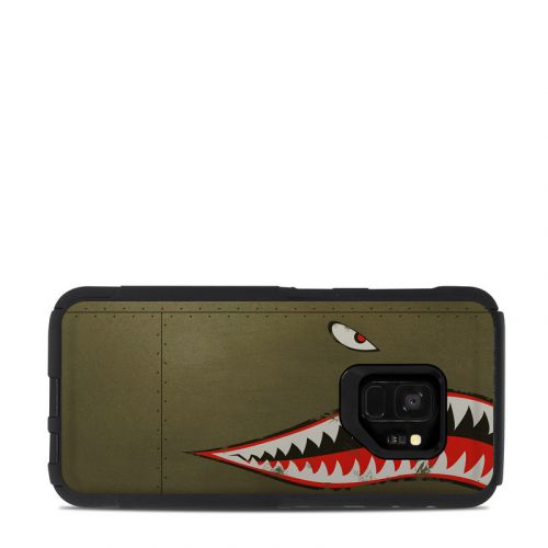 USAF Shark OtterBox Commuter Galaxy S9 Case Skin