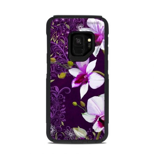 Violet Worlds OtterBox Commuter Galaxy S9 Case Skin
