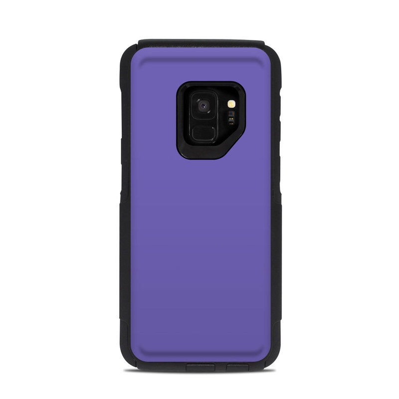 low priced 93618 ca8e3 Solid State Purple OtterBox Commuter Galaxy S9 Case Skin