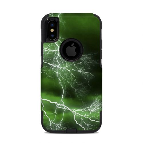 Apocalypse Green OtterBox Commuter iPhone XS Case Skin