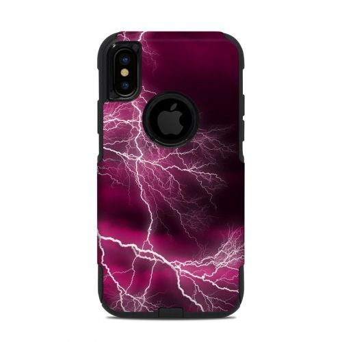 Apocalypse Pink OtterBox Commuter iPhone XS Case Skin