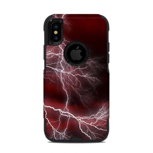 Apocalypse Red OtterBox Commuter iPhone XS Case Skin