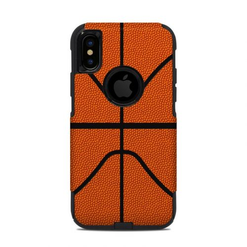 Basketball OtterBox Commuter iPhone XS Case Skin