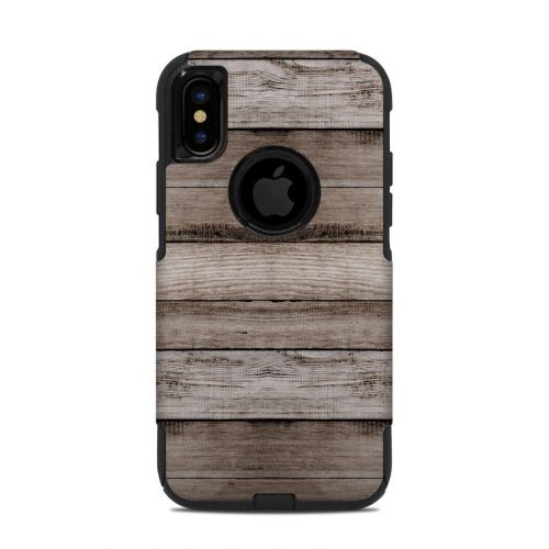 Barn Wood OtterBox Commuter iPhone XS Case Skin