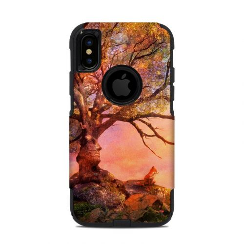 Fox Sunset OtterBox Commuter iPhone XS Case Skin