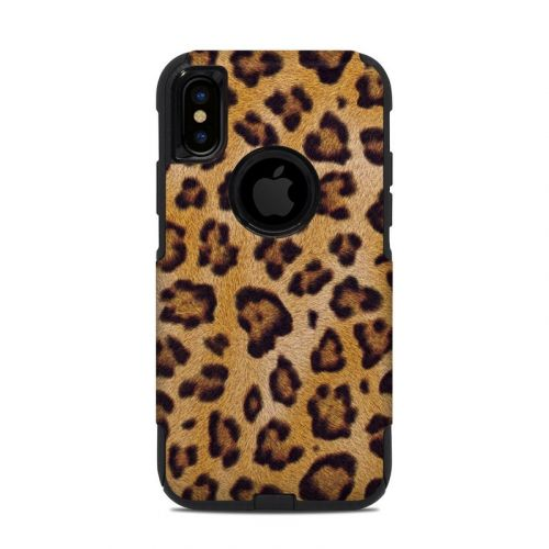 Leopard Spots OtterBox Commuter iPhone XS Case Skin