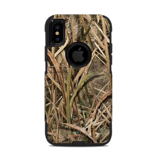 Shadow Grass Blades OtterBox Commuter iPhone XS Case Skin