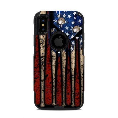 Old Glory OtterBox Commuter iPhone XS Case Skin