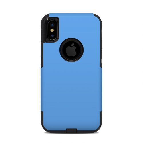 Solid State Blue OtterBox Commuter iPhone XS Case Skin