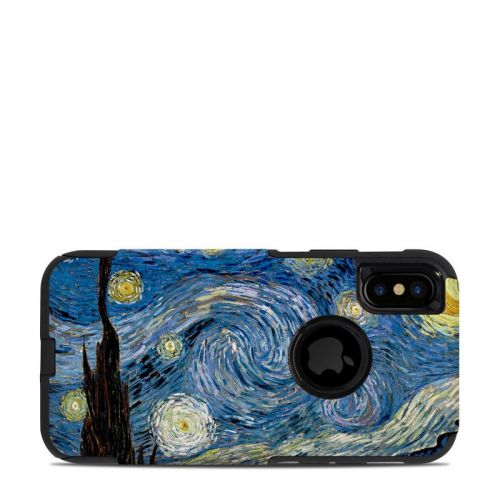 Starry Night OtterBox Commuter iPhone XS Case Skin